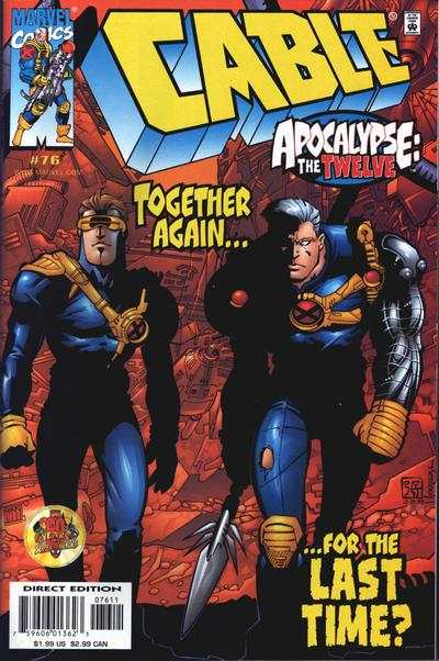 Cable #76 Comic Books - Covers, Scans, Photos  in Cable Comic Books - Covers, Scans, Gallery
