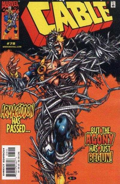 Cable #78 Comic Books - Covers, Scans, Photos  in Cable Comic Books - Covers, Scans, Gallery