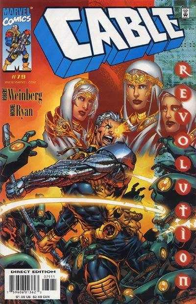 Cable #79 Comic Books - Covers, Scans, Photos  in Cable Comic Books - Covers, Scans, Gallery