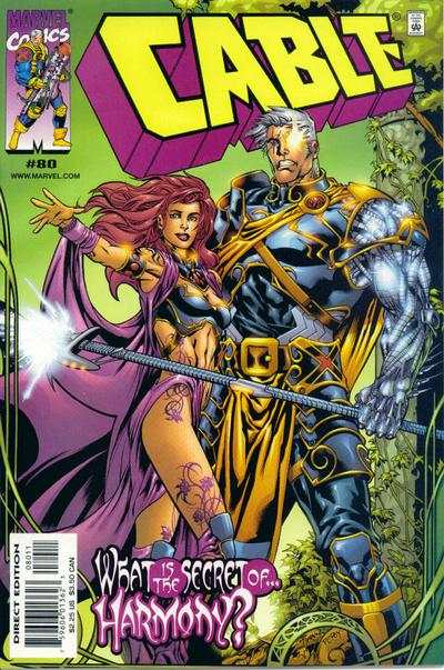 Cable #80 comic books - cover scans photos Cable #80 comic books - covers, picture gallery