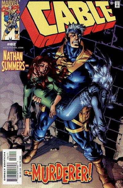Cable #82 Comic Books - Covers, Scans, Photos  in Cable Comic Books - Covers, Scans, Gallery