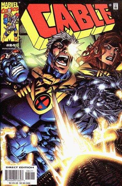 Cable #84 comic books - cover scans photos Cable #84 comic books - covers, picture gallery