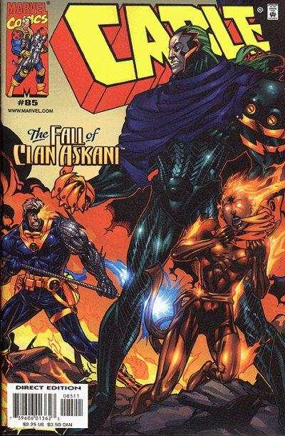 Cable #85 Comic Books - Covers, Scans, Photos  in Cable Comic Books - Covers, Scans, Gallery