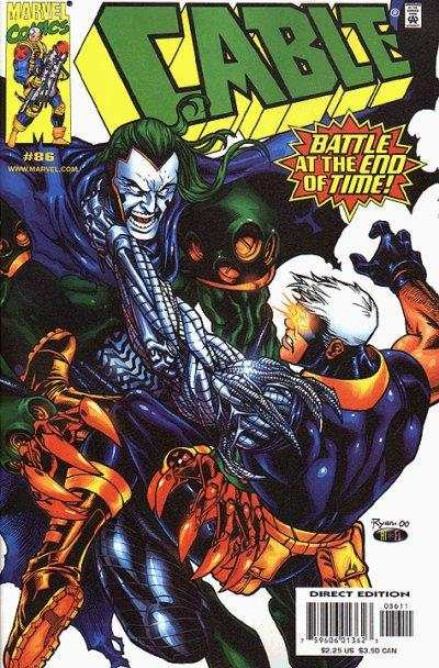 Cable #86 Comic Books - Covers, Scans, Photos  in Cable Comic Books - Covers, Scans, Gallery