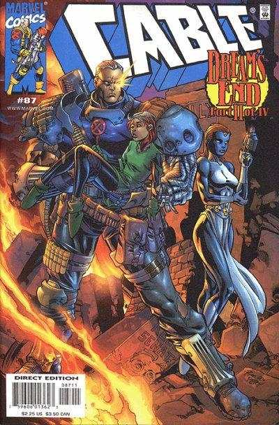 Cable #87 Comic Books - Covers, Scans, Photos  in Cable Comic Books - Covers, Scans, Gallery