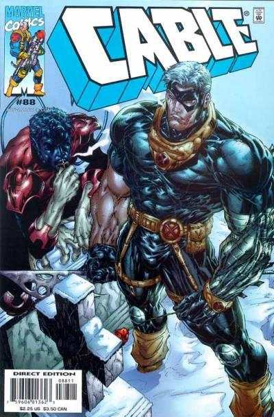 Cable #88 comic books - cover scans photos Cable #88 comic books - covers, picture gallery