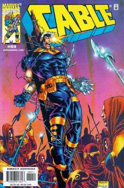 Cable #89 comic books - cover scans photos Cable #89 comic books - covers, picture gallery