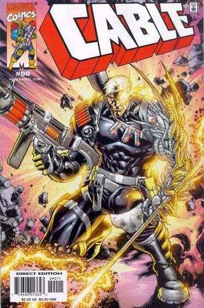Cable #90 comic books - cover scans photos Cable #90 comic books - covers, picture gallery