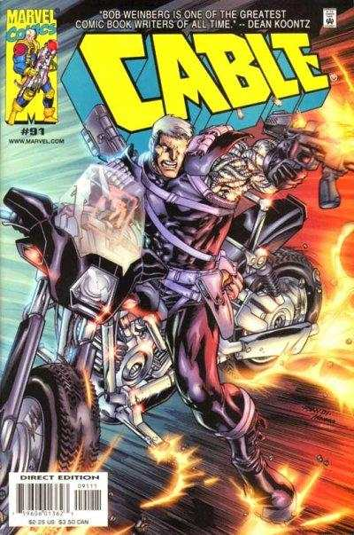 Cable #91 comic books - cover scans photos Cable #91 comic books - covers, picture gallery