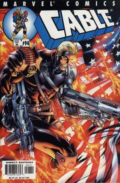 Cable #94 comic books - cover scans photos Cable #94 comic books - covers, picture gallery