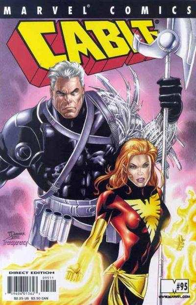 Cable #95 comic books - cover scans photos Cable #95 comic books - covers, picture gallery