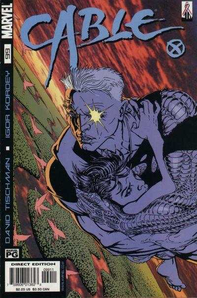 Cable #99 comic books - cover scans photos Cable #99 comic books - covers, picture gallery