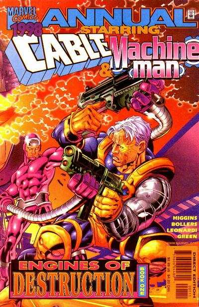 Cable #1998 comic books - cover scans photos Cable #1998 comic books - covers, picture gallery