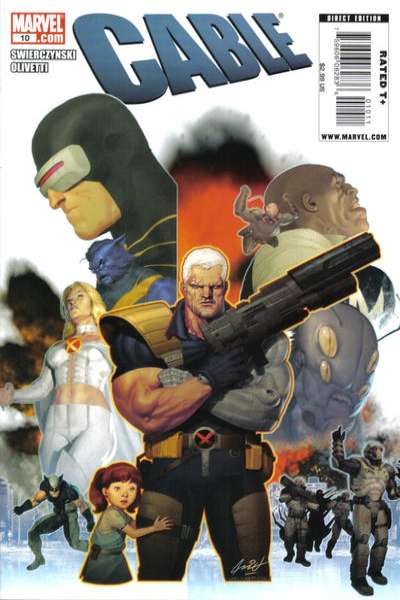Cable #10 comic books for sale