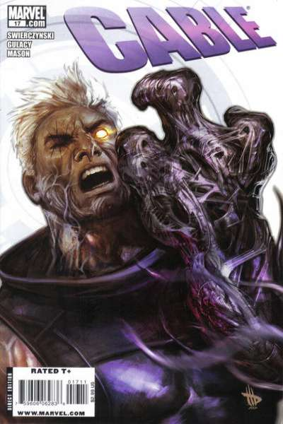 Cable #17 comic books - cover scans photos Cable #17 comic books - covers, picture gallery