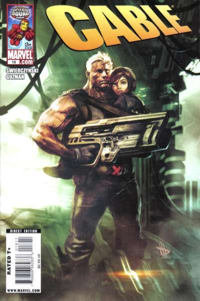 Cable #18 comic books - cover scans photos Cable #18 comic books - covers, picture gallery