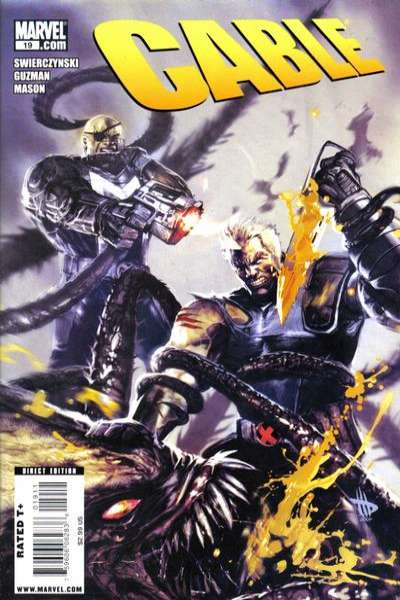 Cable #19 comic books - cover scans photos Cable #19 comic books - covers, picture gallery