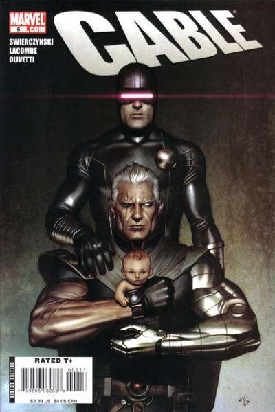 Cable #6 comic books - cover scans photos Cable #6 comic books - covers, picture gallery