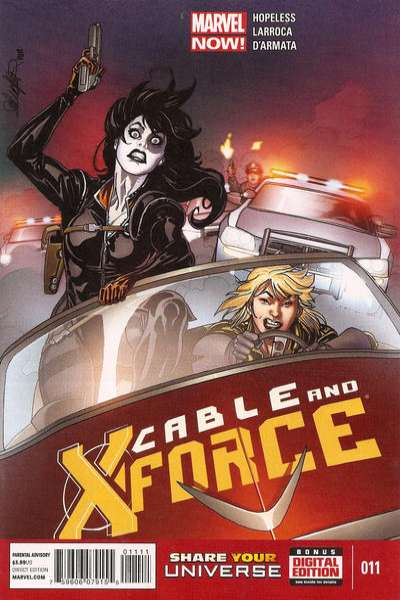 Cable and X-Force #11 Comic Books - Covers, Scans, Photos  in Cable and X-Force Comic Books - Covers, Scans, Gallery