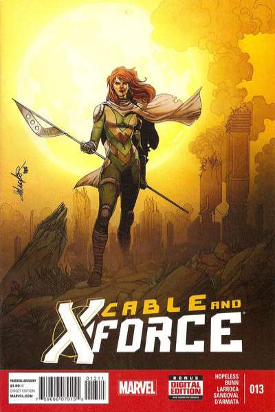 Cable and X-Force #13 Comic Books - Covers, Scans, Photos  in Cable and X-Force Comic Books - Covers, Scans, Gallery