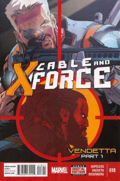 Cable and X-Force #18 Comic Books - Covers, Scans, Photos  in Cable and X-Force Comic Books - Covers, Scans, Gallery