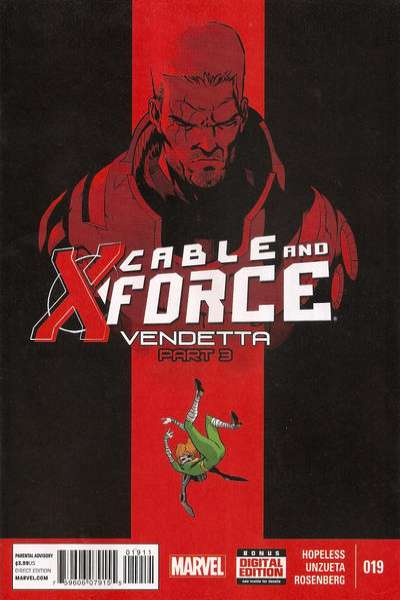 Cable and X-Force #19 comic books - cover scans photos Cable and X-Force #19 comic books - covers, picture gallery
