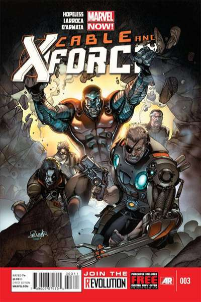 Cable and X-Force #3 Comic Books - Covers, Scans, Photos  in Cable and X-Force Comic Books - Covers, Scans, Gallery