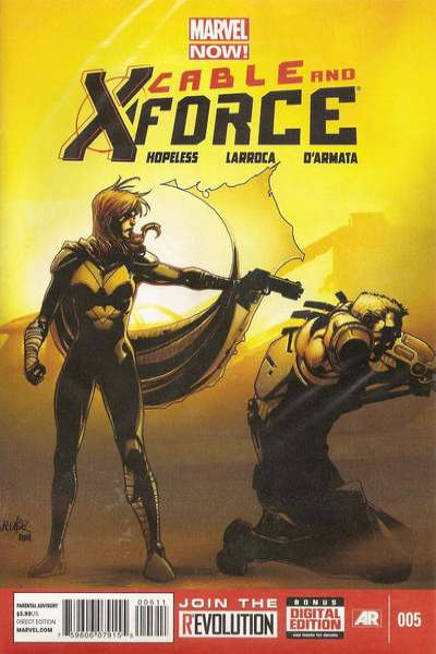 Cable and X-Force #5 comic books for sale