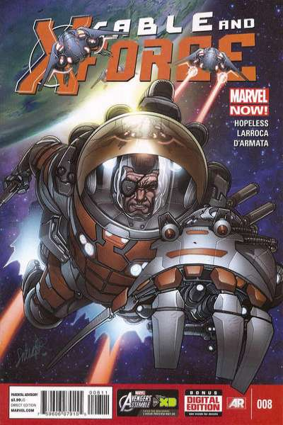 Cable and X-Force #8 Comic Books - Covers, Scans, Photos  in Cable and X-Force Comic Books - Covers, Scans, Gallery