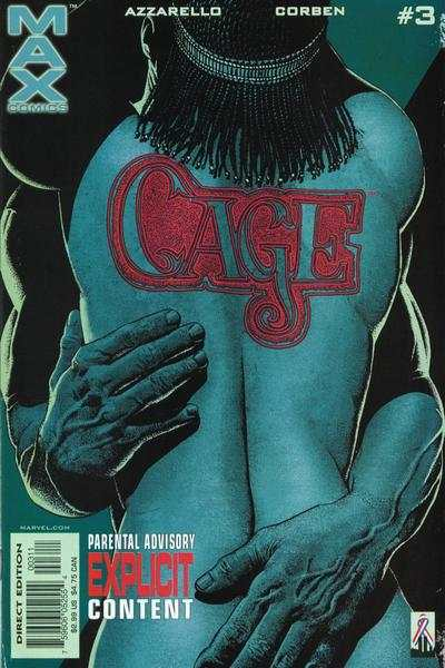 Cage #3 comic books - cover scans photos Cage #3 comic books - covers, picture gallery
