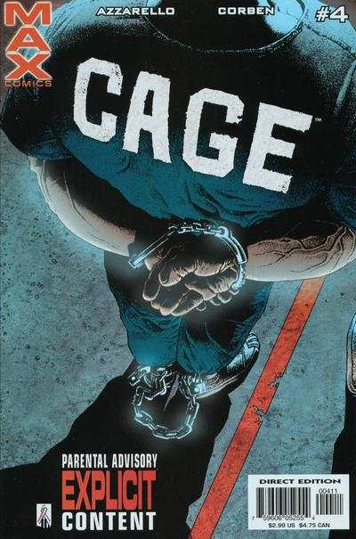 Cage #4 Comic Books - Covers, Scans, Photos  in Cage Comic Books - Covers, Scans, Gallery