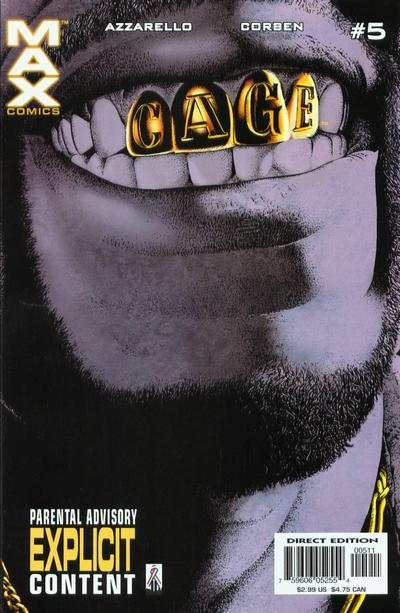 Cage #5 Comic Books - Covers, Scans, Photos  in Cage Comic Books - Covers, Scans, Gallery