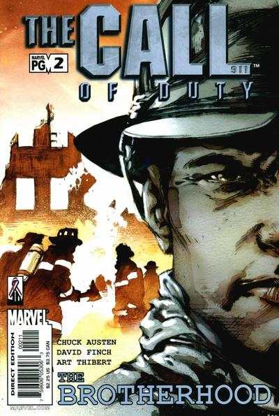 Call of Duty: The Brotherhood #2 comic books - cover scans photos Call of Duty: The Brotherhood #2 comic books - covers, picture gallery