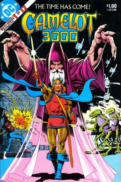 Camelot 3000 Comic Books. Camelot 3000 Comics.
