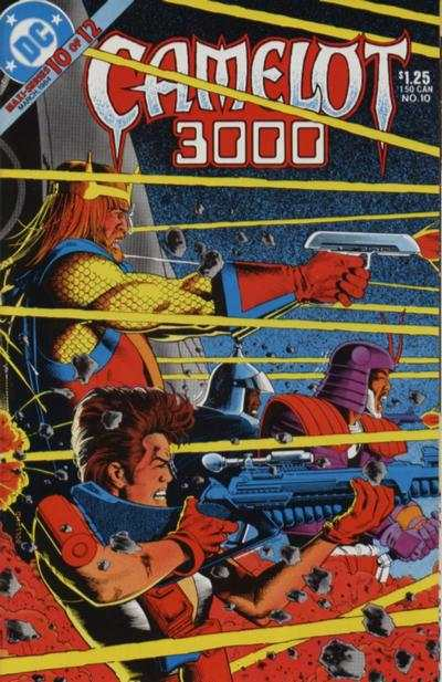 Camelot 3000 #10 comic books - cover scans photos Camelot 3000 #10 comic books - covers, picture gallery