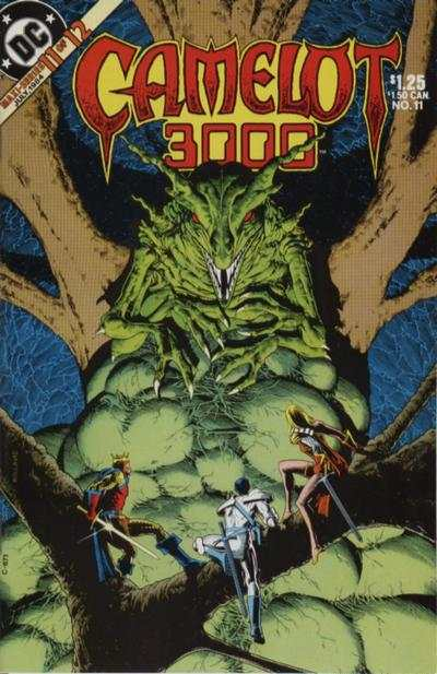 Camelot 3000 #11 comic books for sale
