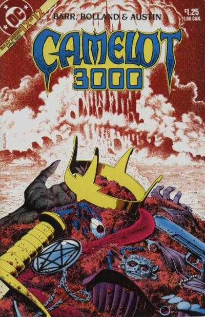 Camelot 3000 #12 comic books - cover scans photos Camelot 3000 #12 comic books - covers, picture gallery