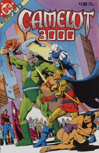Camelot 3000 #2 comic books - cover scans photos Camelot 3000 #2 comic books - covers, picture gallery