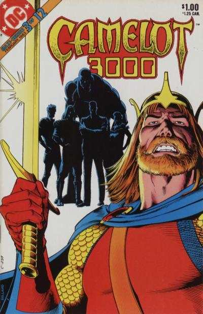 Camelot 3000 #3 comic books - cover scans photos Camelot 3000 #3 comic books - covers, picture gallery