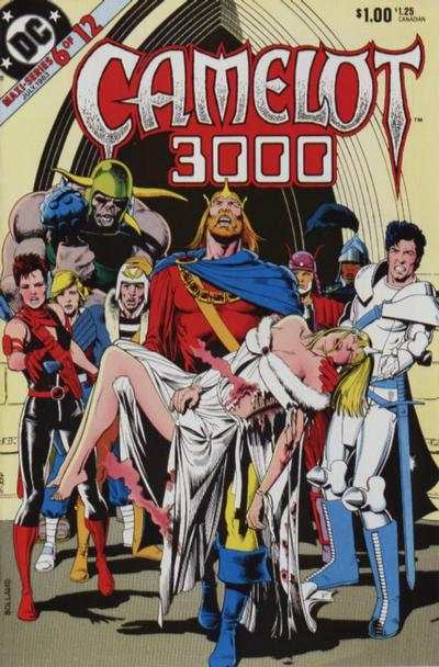 Camelot 3000 #6 comic books - cover scans photos Camelot 3000 #6 comic books - covers, picture gallery