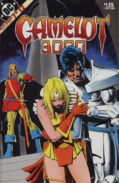 Camelot 3000 #7 comic books - cover scans photos Camelot 3000 #7 comic books - covers, picture gallery