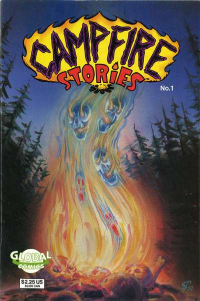 Campfire Stories comic books