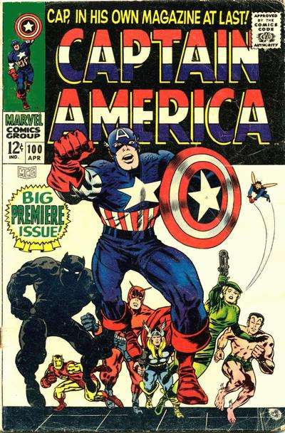 Captain America comic books