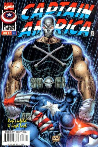 Captain America #3 Comic Books - Covers, Scans, Photos  in Captain America Comic Books - Covers, Scans, Gallery