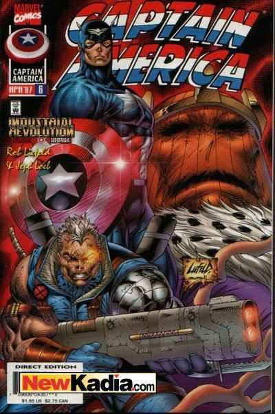 Captain America #6 Comic Books - Covers, Scans, Photos  in Captain America Comic Books - Covers, Scans, Gallery
