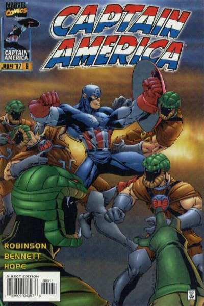 Captain America #9 comic books for sale