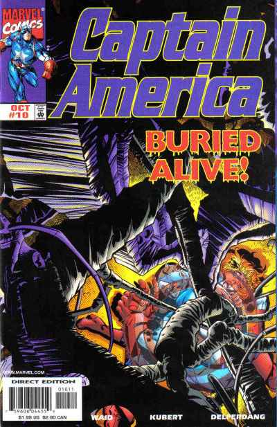 Captain America #10 Comic Books - Covers, Scans, Photos  in Captain America Comic Books - Covers, Scans, Gallery