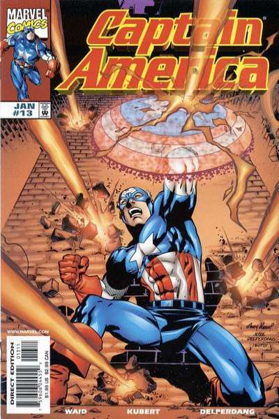 Captain America #13 comic books - cover scans photos Captain America #13 comic books - covers, picture gallery