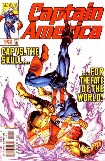 Captain America #16 comic books - cover scans photos Captain America #16 comic books - covers, picture gallery