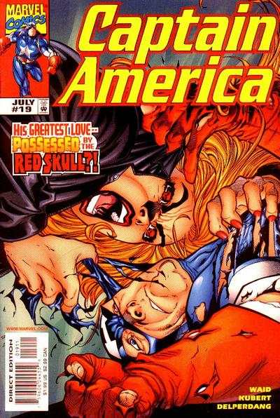Captain America #19 comic books - cover scans photos Captain America #19 comic books - covers, picture gallery